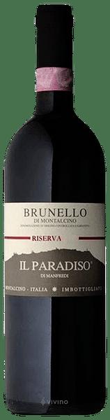 Brunello di Montalcino Il Paradiso di Manfredi 2012 0.75 lt.