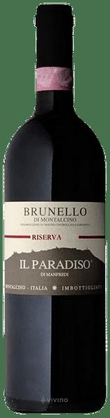 Brunello di Montalcino Il Paradiso di Manfredi 2013 0.75 lt.