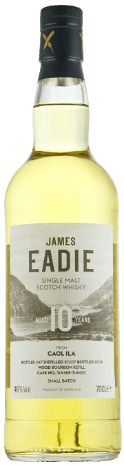 James Eadie Caol Ila 10 Year Old Scotch Whisky 0.70 cl.