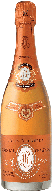 Champagne Cristal Brut Rosè Limited Edition Louis Roederer 2004 0.75 lt.