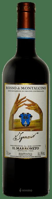 Rosso di Montalcino Il Marroneto Ignaccio 2018 0.75 lt.