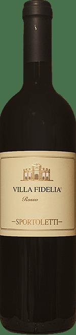 Villa Fidelia Rosso Sportoletti 2015 0.75 lt.