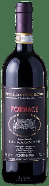 Brunello di Montalcino Le Ragnaie Fornace 2015 0.75 lt.